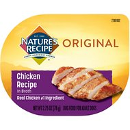 Nature's Recipe Chicken Recipe in Broth Wet Dog Food, 2.75-oz, case of 12