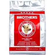 Brothers Complete Goat Meal & Egg Formula Grain-Free Dry Dog Food, 5-lb bag