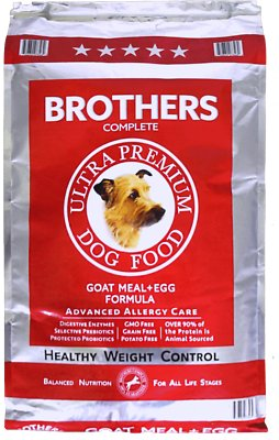 6. Brothers Compete Ultra-Premium Healthy Weight Control Dry Dog Food