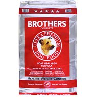 Brothers Complete Goat Meal & Egg Formula Advanced Allergy Care Healthy Weight Control Grain-Free Dry Dog Food, 25-lb bag