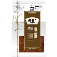 VERA Premium Beef Recipe Jerky Fillet Dog Treats, 12-oz bag