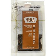 VERA Premium Jerky Fillets with Duck Dog Treats, 12-oz bag