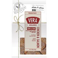 VERA Skin & Coat Premium Chicken & Salmon Fillet Dog Treats, 22-oz bag