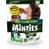 Minties Dental Tiny/Small Dog Treats, 16 count