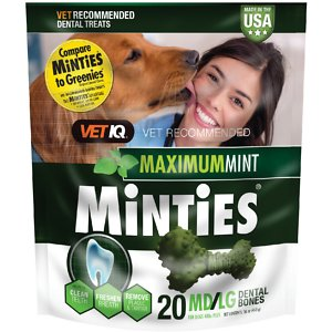 VetIQ Minties Dental Medium/Large Dog Treats