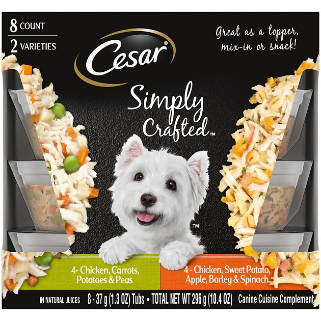 Cesar Dog Food Chicken And Carrots