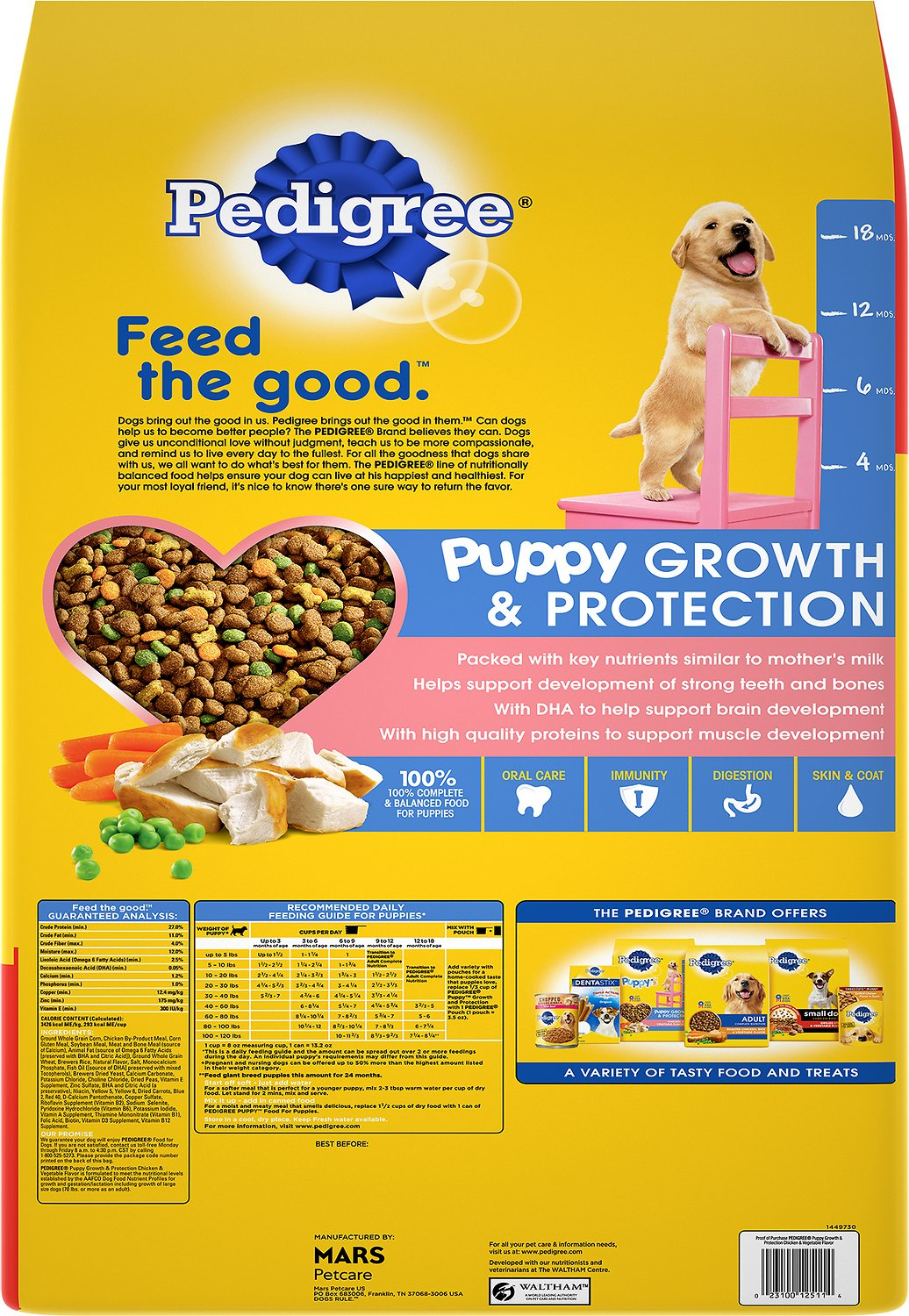 Pedigree Puppy Growth & Protection