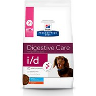 Hill's Prescription Diet i/d Digestive Care Small Bites Dry Dog Food, 7-lb bag