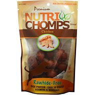 Premium Nutri Chomps Mini Chicken Knot Dog Treats, 8 count