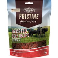 Castor & Pollux PRISTINE Grain-Free Grass-Fed Beef Recipe Jerky Dog Treats, 4.5-oz bag