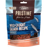Castor & Pollux PRISTINE Grain-Free Wild-Caught Salmon Recipe Jerky Dog Treats, 4.5-oz bag