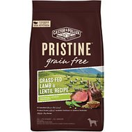 Castor & Pollux PRISTINE Grain-Free Grass-Fed Lamb & Lentil Recipe Dry Dog Food, 4-lb bag