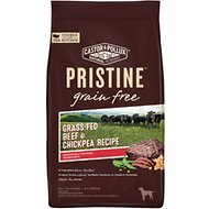 Castor & Pollux PRISTINE Grain-Free Grass-Fed Beef & Chickpea Recipe Dry Dog Food, 4-lb bag