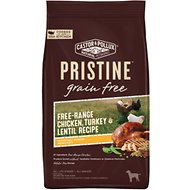 Castor & Pollux PRISTINE Grain-Free Free-Range Chicken, Turkey & Lentil Recipe Dry Dog Food, 18-lb bag