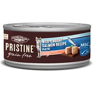 Castor & Pollux PRISTINE Grain-Free Wild-Caught Salmon Recipe Pate Canned Cat Food, 5.5-oz, case of 24