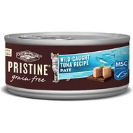 Castor & Pollux PRISTINE Grain-Free Wild-Caught Tuna Recipe Pate Canned Cat Food, 5.5-oz, case of 24