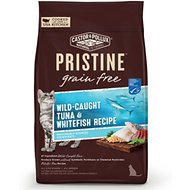 Castor & Pollux PRISTINE Grain-Free Wild-Caught Tuna & Whitefish Recipe Dry Cat Food, 6-lb bag