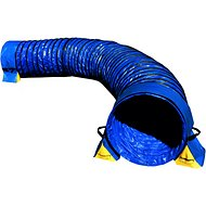 Cool Runners Agility Lightweight PVC Dog Training Tunnel with Tunnel Bags, 15-ft