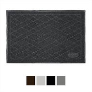Pawkin Cat Litter Mat, X-Large, Iron Panther