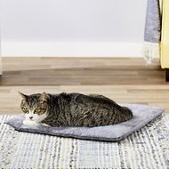 K.T. Manufacturing Purr Padd Cat Bed Mat, Charcoal, 2 count