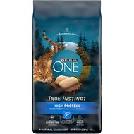 Purina ONE True Instinct Natural Grain-Free with Ocean Whitefish Dry Cat Food, 6.3-lb bag