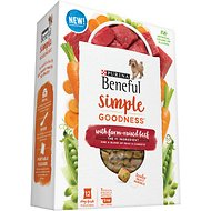 Purina Beneful Simple Goodness With Farm-Raised Beef Dry Dog Food, 3.53-lb, 12 count