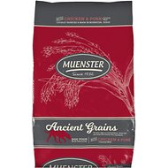 Muenster Ancient Grains Chicken & Pork Dry Dog Food, 30-lb