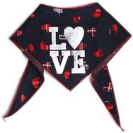 Tail Trends Love Dog Bandana, Large