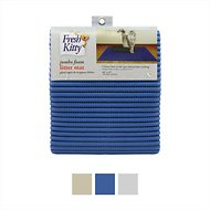 Fresh Kitty Jumbo Foam Cat Litter Mat, Blue