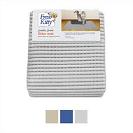 Fresh Kitty Jumbo Foam Cat Litter Mat, Gray