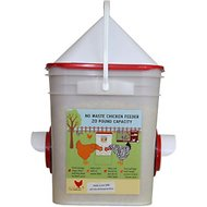 RentACoop Center Chicken Feeder, 20-lb bucket