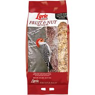 Lyric Fruit & Nut High Energy Wild Bird Food Mix, 20-lb bag