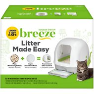 Tidy Cats Breeze Hooded Cat Litter Box System