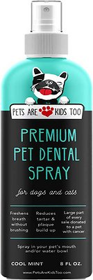 4. Pets Are Kids Too Premium Dog Dental Spray