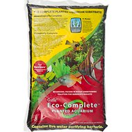 CaribSea Eco-Complete Planted Aquarium Substrate, Black, 20-lb bag