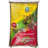 CaribSea Eco-Complete Planted Aquarium Substrate, Red, 20-lb bag