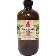 Plato Small Batch Beef Bone Broth Dog Supplement, 16-oz bottle