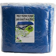 inTank Aquarium, Pond and Terrarium Double Bonded Poly Filter Floss Pads, 3 count
