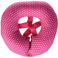 Puppy Bumpers Fence Blocker, Pink Dot, up to 10-in