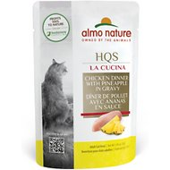 Almo Nature La Cucina Chicken with Pineapple Grain-Free Cat Food Pouches, 1.94 oz, case of 24