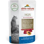 Almo Nature La Cucina Tuna with Papaya Grain-Free Cat Food Pouches, 1.94 oz, case of 24