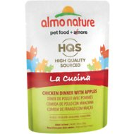 Almo Nature La Cucina Chicken with Apple Grain-Free Cat Food Pouches, 1.94 oz, case of 24