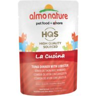 Almo Nature La Cucina Tuna with Lobster Grain-Free Cat Food Pouches, 1.94 oz, case of 24