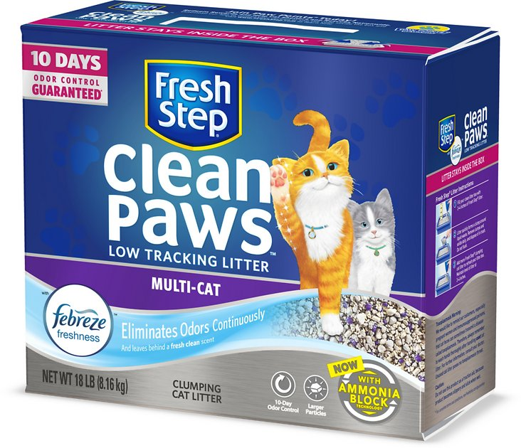 Cat Litter Sticking To Paws