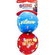 KONG Occasions Birthday Balls Dog Toy, Small