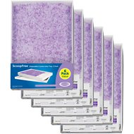 PetSafe ScoopFree Lavender Scented Non-Clumping Crystal Cat Litter, 6 Count