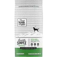 I and Love and You Lovingly Simple Limited Ingredient Diet Lamb & Sweet Potato Dry Dog Food, 10.25-lb bag