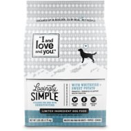 I and Love and You Lovingly Simple Limited Ingredient Diet Whitefish & Sweet Potato Dry Dog Food, 10.25-lb bag