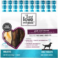 I and Love and You Pick & Chews Variety Dog Treats, 5.5-oz bag