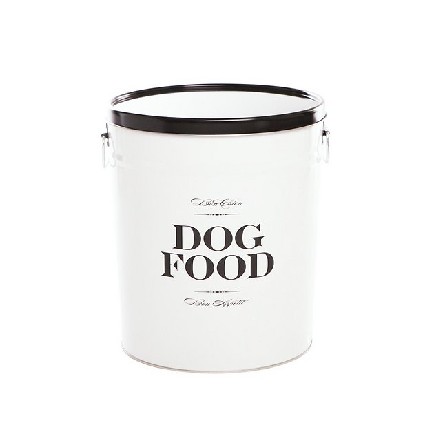 Harry Barker Quot Bon Chien Quot Dog Food Storage Canister Small